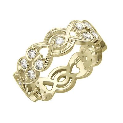 Золотое кольцо Ювелирное изделие 01K646568