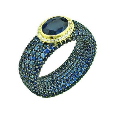 Золотое кольцо Ювелирное изделие 01K646691