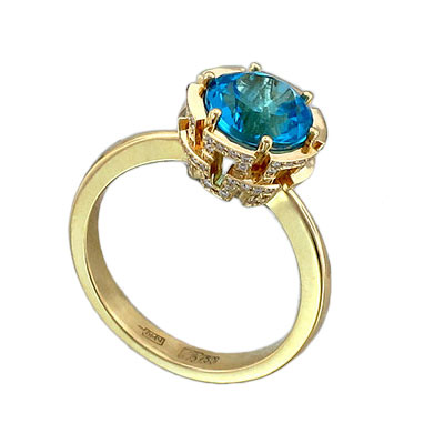 Золотое кольцо Ювелирное изделие 01K646742