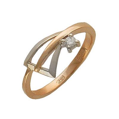 Золотое кольцо Ювелирное изделие 01K662873J ювелирное изделие 034mj00001