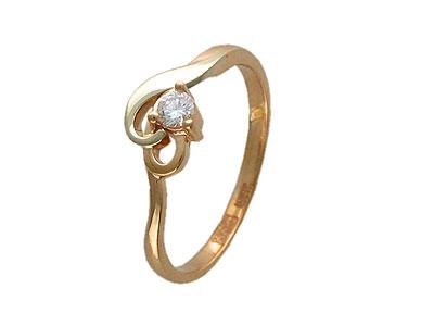 Золотое кольцо Ювелирное изделие 01K663088