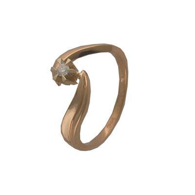 Золотое кольцо Ювелирное изделие 01K663361 золотое кольцо ювелирное изделие 96252
