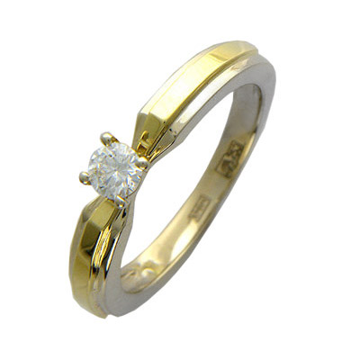 Золотое кольцо Ювелирное изделие 01K664409