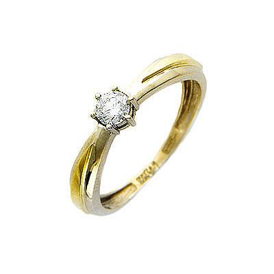 Золотое кольцо Ювелирное изделие 01K664416