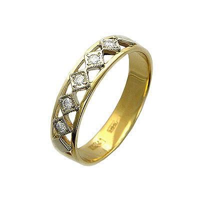 Золотое кольцо Ювелирное изделие 01K664815