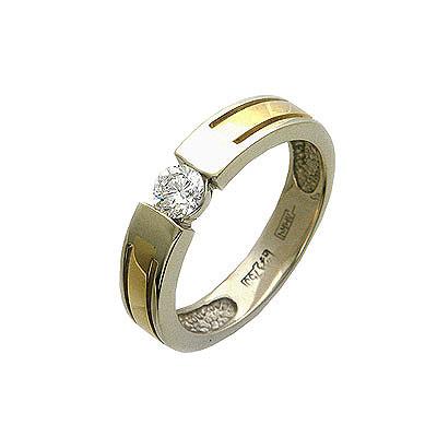 Золотое кольцо Ювелирное изделие 01K664830
