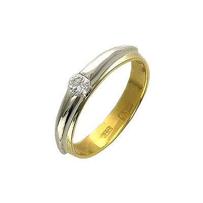 Золотое кольцо Ювелирное изделие 01K664831
