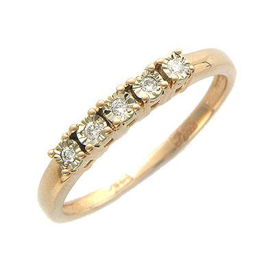 Золотое кольцо Ювелирное изделие 01K664882 золотое кольцо ювелирное изделие 01k673574l