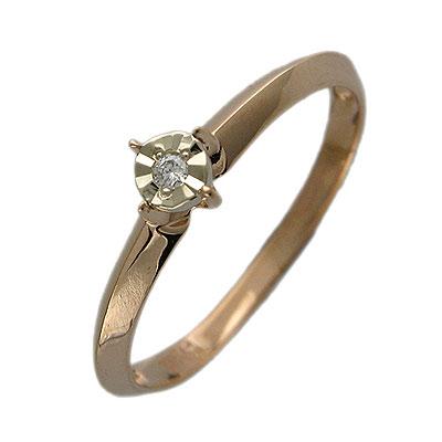 Золотое кольцо Ювелирное изделие 01K664938