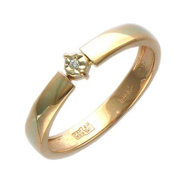 Золотое кольцо Ювелирное изделие 01K664940 кольцо 2015 18k