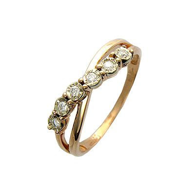 Золотое кольцо Ювелирное изделие 01K664989