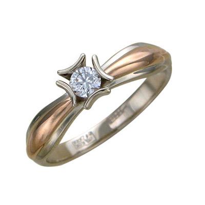 Золотое кольцо Ювелирное изделие 01K665427