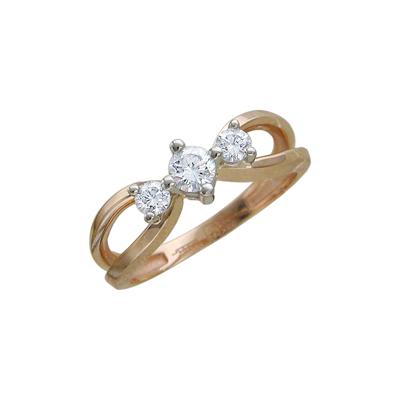 Золотое кольцо  01K665526 Ювелирное изделие