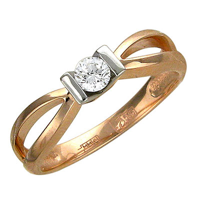 Золотое кольцо Ювелирное изделие 01K665534