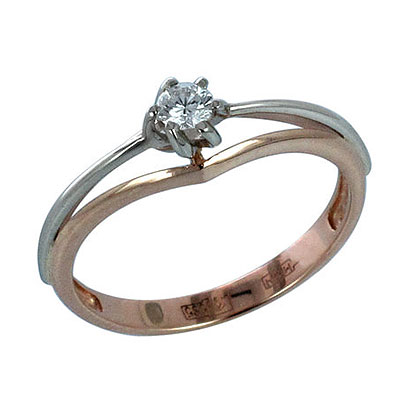 Золотое кольцо Ювелирное изделие 01K665751