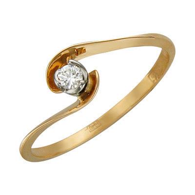 Золотое кольцо Ювелирное изделие 01K666873