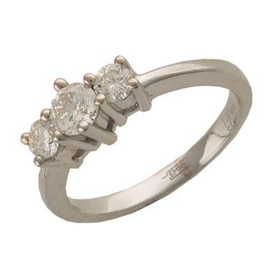 Золотое кольцо Ювелирное изделие 01K672293 ювелирное изделие g 3 23 18