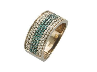Золотое кольцо Ювелирное изделие 01K672815