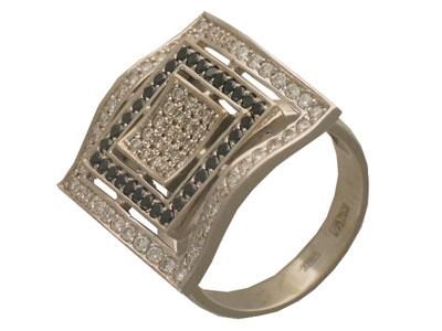 Золотое кольцо Ювелирное изделие 01K673005