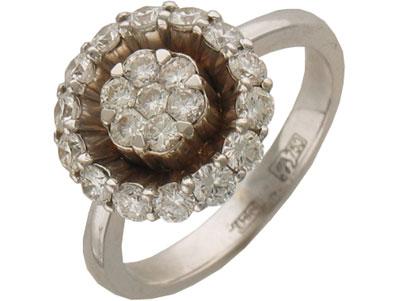 Золотое кольцо Ювелирное изделие 01K673017Z