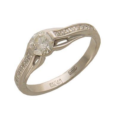 Золотое кольцо Ювелирное изделие 01K673046