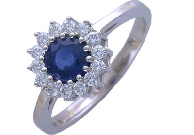 Золотое кольцо Ювелирное изделие 01K673167