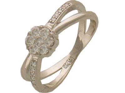 Золотое кольцо Ювелирное изделие 01K673249Z
