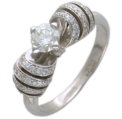 Золотое кольцо Ювелирное изделие 01K673483