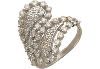 Золотое кольцо Ювелирное изделие 01K673513