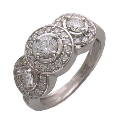 Золотое кольцо Ювелирное изделие 01K673590