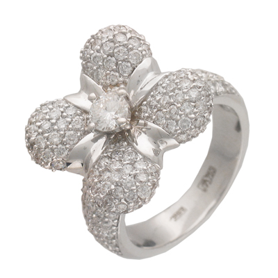 Золотое кольцо Ювелирное изделие 01K673599