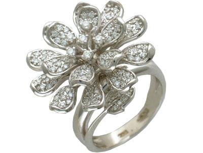 Золотое кольцо Ювелирное изделие 01K673603 цена