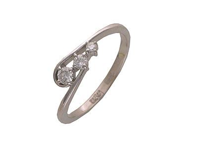 Золотое кольцо Ювелирное изделие 01K673663