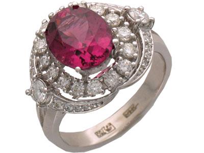 Золотое кольцо Ювелирное изделие 01K673743L