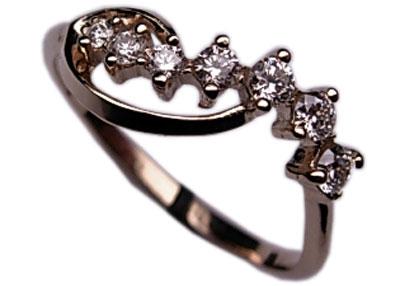 Золотое кольцо Ювелирное изделие 01K673830 золотое кольцо ювелирное изделие 01k673574l