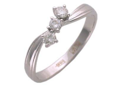 Золотое кольцо Ювелирное изделие 01K673856