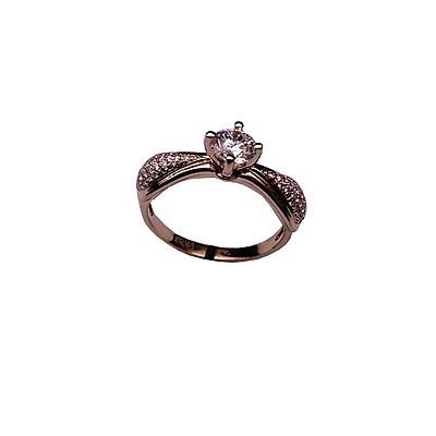 Золотое кольцо Ювелирное изделие 01K673938