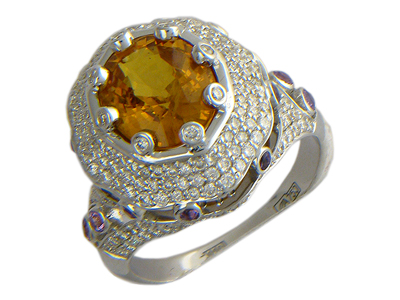 Золотое кольцо Ювелирное изделие 01K674034L