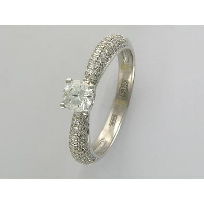 Золотое кольцо Ювелирное изделие 01K674195