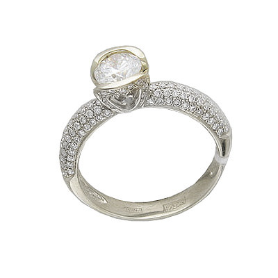 Золотое кольцо Ювелирное изделие 01K674210