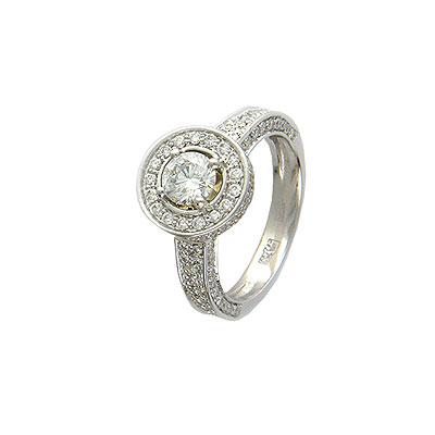 Золотое кольцо Ювелирное изделие 01K674222