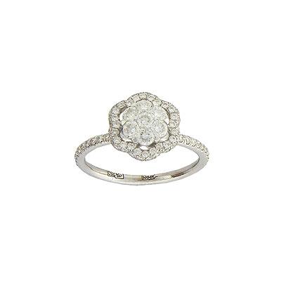 Золотое кольцо Ювелирное изделие 01K674338Z