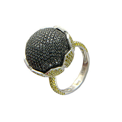Золотое кольцо Ювелирное изделие 01K674372L