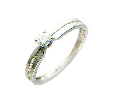 Золотое кольцо Ювелирное изделие 01K674406