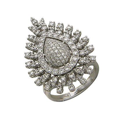 Золотое кольцо Ювелирное изделие 01K675233L