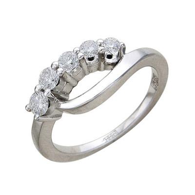 Золотое кольцо Ювелирное изделие 01K676001 золотое кольцо ювелирное изделие 01k673574l
