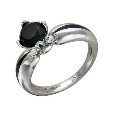 Золотое кольцо Ювелирное изделие 01K676055U золотое кольцо ювелирное изделие k 22032