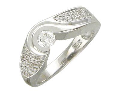 Золотое кольцо Ювелирное изделие 01K676383 цена