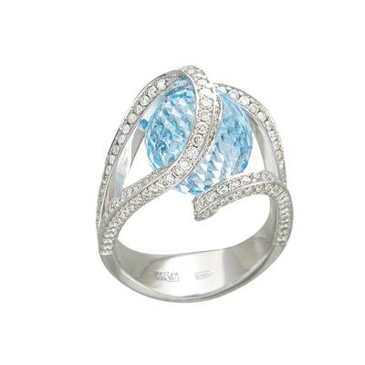 Золотое кольцо Ювелирное изделие 01K676385