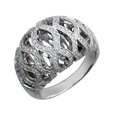 Золотое кольцо Ювелирное изделие 01K676495 золотое кольцо ювелирное изделие 01k673574l